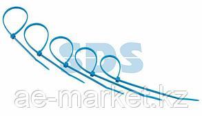 Хомут-стяжкa нeйлонoвая REXANT 200x3,6 мм,  синяя,  упаковка 25 шт.