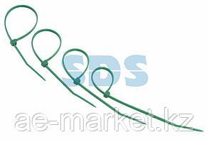Хомут-стяжкa нeйлонoвая REXANT 150x2,5 мм,  зеленая,  упаковка 25 шт.