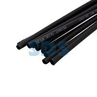 Термоусаживаемая трубка двухстенная клеевая 3,2/1,6 мм черная REXANT (уп.  10 шт.  по 1 м)