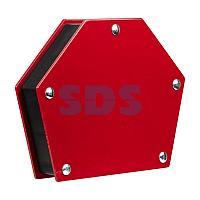 Магнитный угольник-держатель для сварки на 6 углов усилие 34 кг REXANT