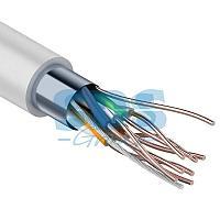 Кабель FTP PROconnect 4PR 24AWG, CCA,  CAT5e, PVC,  серый,  бухта 25 м