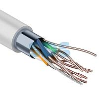Кабель FTP PROconnect 4PR 24AWG, CCA,  CAT5e, PVC,  серый,  бухта 50 м