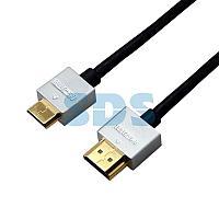 Шнур mini HDMI - HDMI,  длина 1,5 метра Ultra Slim (GOLD) (блистер) REXANT