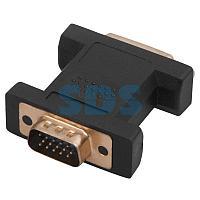 Переходник штекер VGA - гнездо DVI-I REXANT