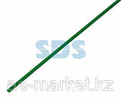 Термоусаживаемая трубка REXANT 1,5/0,75 мм,  зеленая,  упаковка 50 шт.  по 1 м