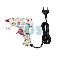 Пистолет клеевой REXANT,  15 Вт,  Ø7 мм + набор цветных стержней 12 шт,  блистер