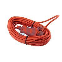 Удлинитель-шнур PROconnect ПВС 2х0.75, 10 м,  б/з,  6 А,  1300 Вт,  IP20, оранжевый (Сделано в России)