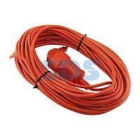 Удлинитель-шнур PROconnect ПВС 3х0.75, 20 м,  с/з,  6 А,  1300 Вт,  IP44, оранжевый (Сделано в России)