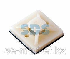 Площадка самоклеящаяся REXANT 20х20 мм,  белая,  упаковка 100 шт.