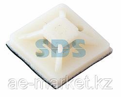Площадка самоклеящаяся REXANT 30х30 мм,  белая,  упаковка 100 шт.