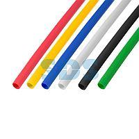 Термоусаживаемые трубки REXANT 3,0/1,5 мм,  набор пять цветов,  упаковка 50 шт.  по 1 м