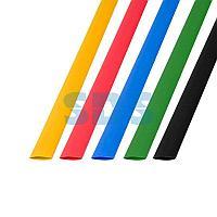 Термоусаживаемые трубки REXANT 10,0/5,0 мм,  набор пять цветов,  упаковка 50 шт.  по 1 м