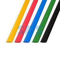 Термоусаживаемые трубки REXANT 8,0/4,0 мм,  набор пять цветов,  упаковка 50 шт.  по 1 м