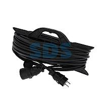 Удлинитель-шнур на рамке REXANT КГ 3х1.5, 30 м,  морозостойкий,  с/з,  16 А,  3500 Вт,  IP44 (Сделано в