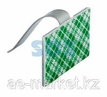 Площадки самоклеющиеся металлические с клипсой под шлейф REXANT (ПКШМ) 30x20 мм,  упаковка 100 шт.