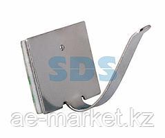Площадки самоклеющиеся металлические с клипсой под шлейф REXANT (ПКШМ) 25x15 мм,  упаковка 100 шт.