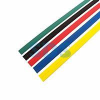 Термоусаживаемые трубки REXANT,  25,0/12,5 мм,  набор пять цветов,  упаковка 25 шт.  по 1 м