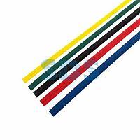 Термоусаживаемые трубки REXANT 15,0/7,5 мм,  набор пять цветов,  упаковка 50 шт.  по 1 м