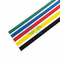 Термоусаживаемые трубки REXANT 20,0/10,0 мм,  набор пять цветов,  упаковка 25 шт.  по 1 м