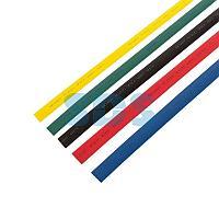 Термоусаживаемые трубки REXANT 12,0/6,0 мм,  набор пять цветов,  упаковка 50 шт.  по 1 м