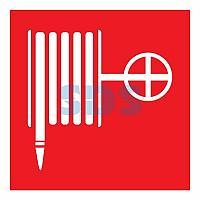 """Наклейка знак пожарной безопасности """"Пожарный кран""""200*200 мм Rexant"""