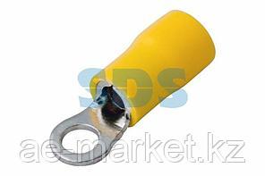 Наконечник кольцевой изолированный ø 5.3 мм 4-6 мм² (НКи 6.0-5/НКи5,5-5) желтый REXANT