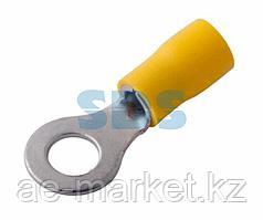 Наконечник кольцевой изолированный ø 6.5 мм 4-6 мм² (НКи 6.0-6/НКи5,5-6) желтый REXANT