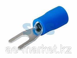 Наконечник вилочный изолированный 3.2 мм 1.5-2.5 мм² (НВи 2.5-3) синий REXANT