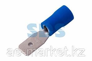 Клемма плоская изолированная штекер 2.8 мм 1.5-2.5 мм² (РПи-п 2.5-(2.8)) синяя REXANT