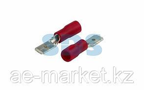Клемма плоская изолированная штекер 4.8 мм 0.5-1.5 мм² (РПи-п 1.5-(4.8)/РПИп 1,25-5) красная REXANT