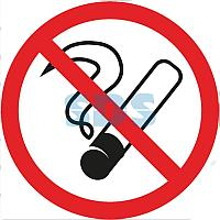 Табличка ПВХ информационный знак «Курить запрещено» 200х200мм REXANT