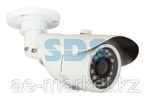 Цилиндрическая уличная камера IP 1.0Мп (720P),  объектив 3.6 мм. ,  ИК до 20 м.