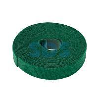 Лента-липучка многоразовая 5 м х 20 мм,  зеленая (1 шт. ) REXANT