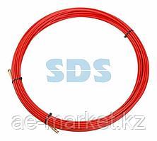 Протяжка кабельная REXANT (мини УЗК в бухте),  стеклопруток,  d=3,5 мм,  20 м,  красная