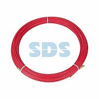 Протяжка кабельная REXANT (мини УЗК в бухте),  стеклопруток,  d=3,5 мм 100 м,  красная