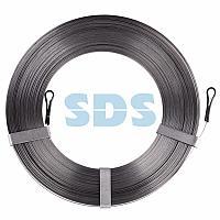 Протяжка кабельная стальная плоская PROconnect,  20 м