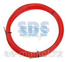 Протяжка кабельная REXANT (мини УЗК в бухте),  стеклопруток,  d=3,5 мм,  25 м,  красная