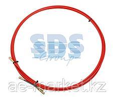 Протяжка кабельная REXANT (мини УЗК в бухте),  стеклопруток,  d=3,5 мм,  3 м,  красная