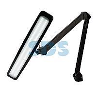 Лампа настольная бестеневая REXANT,  струбцина, «ECO light»,  84 SMD LED,  сенсорный диммер,  черная