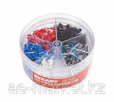 Набор втулочных наконечников НШВИ (0.5 мм²; 0.75 мм²; 1 мм²; 1.5 мм²; 2.5 мм²) в