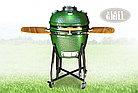 Керамический гриль-барбекю Start grill-22 (со стеклянным окошком), фото 7