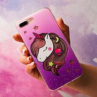 Чехол - шейкер для телефона iPhone 7-8 Plus Miracle, 15,8 х 7,7 см