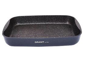 """Противень 335х220х55, каменное антипригарное покрытие """"Granit Ultra"""""""
