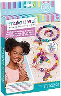 Набор для создания браслетов для девочек MAKE IT REAL Rainbow Dream Jewelry