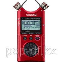 Рекордер Tascam DR-40X красный