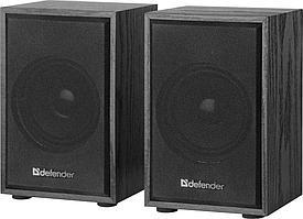 Компактная акустика 2.0 Defender SPK-250 черный