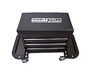 KraftWell KRWRS-T Сиденье механика на колесах c 3-мя ящиками