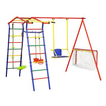 Детский спортивный комплекс уличный «Игромания-2 Футбол» КМС-402, 2700 × 3100 × 2200 мм
