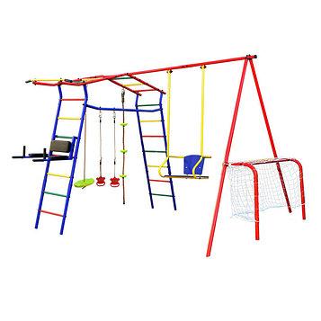Детский спортивный комплекс уличный «Игромания-6 Спорт» КМС-406, 2700 × 3100 × 2200 мм