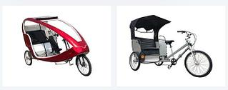 Велотакси/велорикша